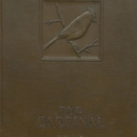 Coldwater High School Yearbook, 1939