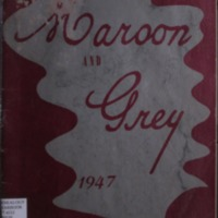 Union City High School Yearbook, 1947