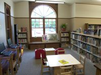 Image: Children's Area at<br />the Union Twp. Branch