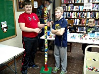 Image: LEGO fun at the<br />Bronson Branch